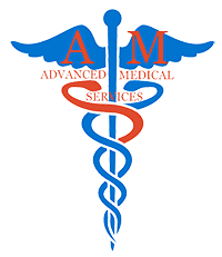 advanced medical services logo